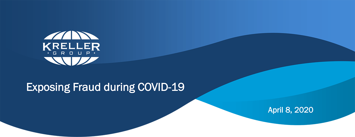Exposing Fraud during COVID-19