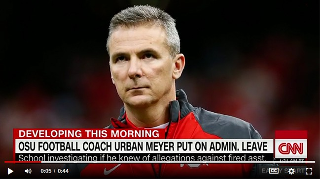 Scandals at Ohio State University: Hire Education